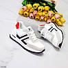 Удобные повседневные теплые белые серые кроссовки в ассортименте, фото 8