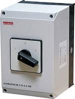 Пакетний перемикач в корпусі e.industrial.sb.1-0-2.3.40, 3р, 40А (1-0-2)