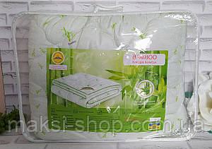 Одеяло бамбук - алое евро размер наполнение - холлофайбер, ткань - микрофибра в подарочной сумке О-904
