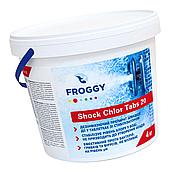 Хлор шоковый Froggy 4 кг в гранулах