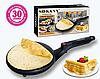 Сковородка для приготовления блинов Sokany SK-5208 Crepe Maker электрическая блинница, фото 5