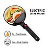 Сковорідка для приготування млинців Sokany SK-5208 Crepe Maker електрична млинниця, фото 6