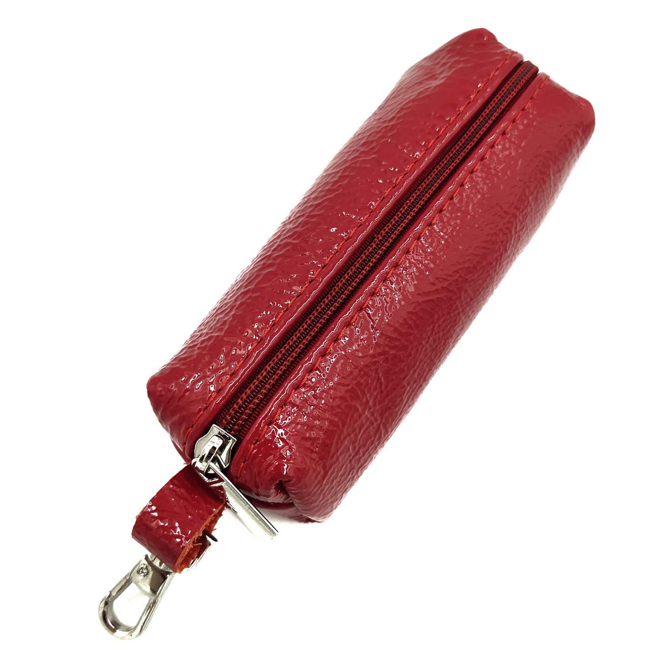 Ключница кожаная красный Китай Арт.мешок 3 Balisa (Китай)