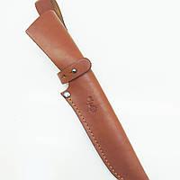 Чехол для ножа №6 кожаный рыжий 5275/2 16/3,5 см ск2
