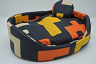 Лежак для котов и собак бязь №5 500х690х145 ск2