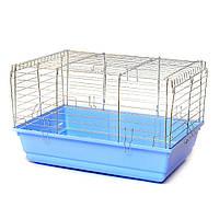Клетка для грызунов Кролик 600 х 400 х 380 мм краска разные цвета Цинк ск2