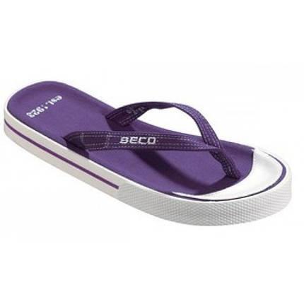 Женские вьетнамки BECO фиолетовый 90304 77, фото 2