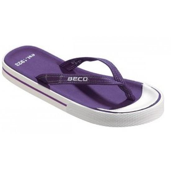 Женские вьетнамки BECO фиолетовый 90304 77