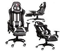 Компьютерное кресло для геймеров ZANO DRAGON WHITE