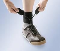 """Поддерживающий бандаж при падающей стопе """"BOXIA"""" с фиксатором для обуви"""