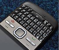 Клавиатура для Nokia E5-00, High Copy, черная /Кнопки/Клавиши /нокиа