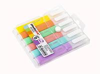 Набір маркерів текстових ORKEY 6 кольорів Light Color OR-1525-6