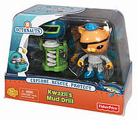 "Игрушки ""Октонавты"" Fisher-Price Octonauts Kwazii's Mud Drill, фото 1"