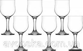 Набір келихів для вина 165 мл 6 шт Gurallar Art Craft Lal 31-146-041