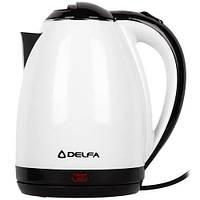 Електрочайник Delfa DK 3520 X White (F00247523)