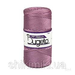 Плоский трикотажний шнур Bugeto PP Ribbon, колір ліловий