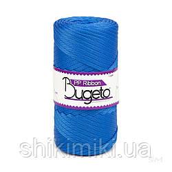 Плоский трикотажний шнур Bugeto PP Ribbon, колір ультрамарин