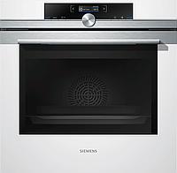 Встраиваемый духовой шкаф белый Siemens HB634GBW1