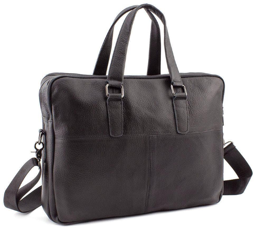 Чоловіча шкіряна сумка Keizer K19227-black
