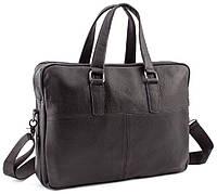 Чоловіча шкіряна сумка Keizer K19227-black, фото 1