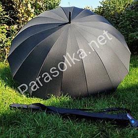 Зонт-трость мужская на 16 спиц Star Rain