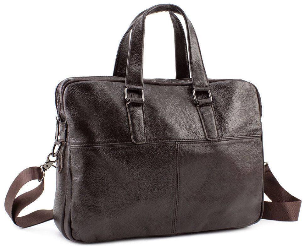 Мужская сумка из кожи Keizer K1359-1-brown