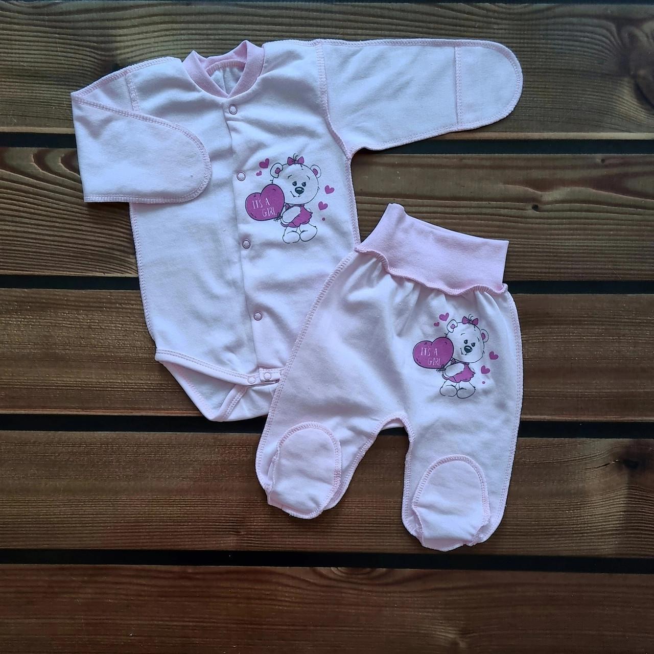 Комплект для новонародженого 2-х предмет. (футер)
