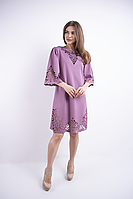 Платье Валенсия трикотаж джерси 46-54 размер разные цвета
