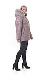 Молодіжна зимова куртка в світлому кольорі, фото 2