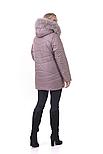 Молодіжна зимова куртка в світлому кольорі, фото 3
