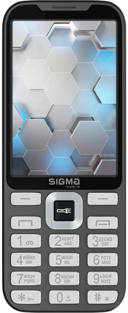Мобильный телефон Sigma mobile X-style 35 Screen grey