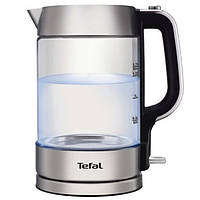 Стеклянный электрический чайник с подсветкой TEFAL KI770D30 электрочайник