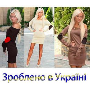 """Женское Платье """"Латки"""", фото 2"""