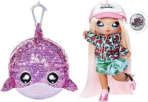 Кукла На На На Сюрприз Криста Сплаш Na Na Na surprise Krysta Splash Дельфин Блестящая серия Оригинал MGA