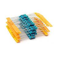 Набір резисторів 200 шт. 1 Вт (20 номіналів опорів по 10 шт 10R - 1МОм 1%), фото 2