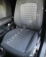 Чохли на сидіння AUDI A4(B-8) Модельні чохли AUDI A4(B-8) Люкс Якість Favorite