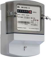 Однофазний лічильник НІК 2102-04 1,0 220В (5-50)А 6400 М2 (НІК 2724)
