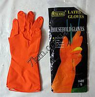 Перчатки хозяйственные резиновые оптом