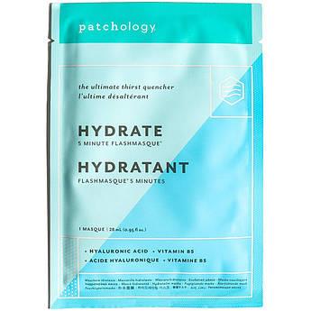 Маска для интенсивного увлажнения кожи с гиалуроновой кислотой Patchology FlashMasque Hydrate 28 мл