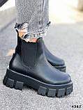 Ботинки женские Caroll черные 4385 ДЕМИ, фото 2
