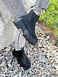 Ботинки женские Caroll черные 4385 ДЕМИ, фото 3