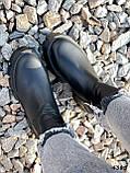 Ботинки женские Caroll черные 4385 ДЕМИ, фото 4