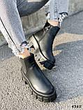 Ботинки женские Caroll черные 4385 ДЕМИ, фото 5