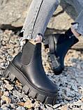 Ботинки женские Caroll черные 4385 ДЕМИ, фото 6