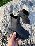 Ботинки женские Caroll черные 4385 ДЕМИ, фото 7