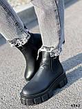 Ботинки женские Caroll черные 4385 ДЕМИ, фото 8