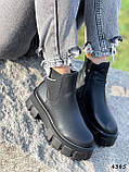 Ботинки женские Caroll черные 4385 ДЕМИ, фото 9