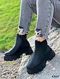 Ботинки женские Caroll черные 4385 ДЕМИ, фото 10