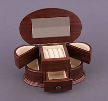 Деревянная шкатулка-комод для украшений 186-089