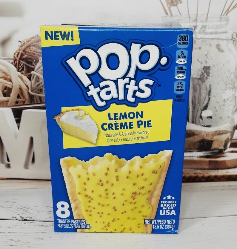 Печенье тосты Pop Tarts Лимонный пирог